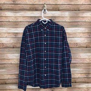 J. Crew Plaid Oxford Button-Down Shirt